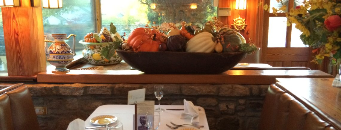 Thanksgiving at Girasole