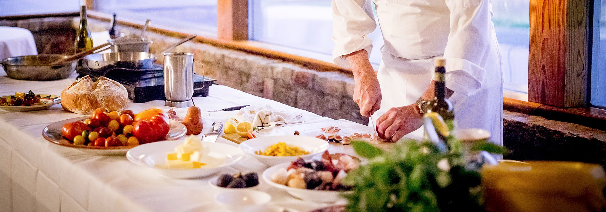 Cooking classes at Girasole